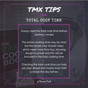 TMX TIPS_Total Cook Time